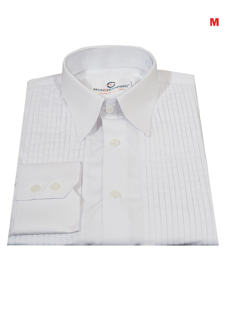 This Tuxedo Only. Tuxedo Shirt White Color For Man