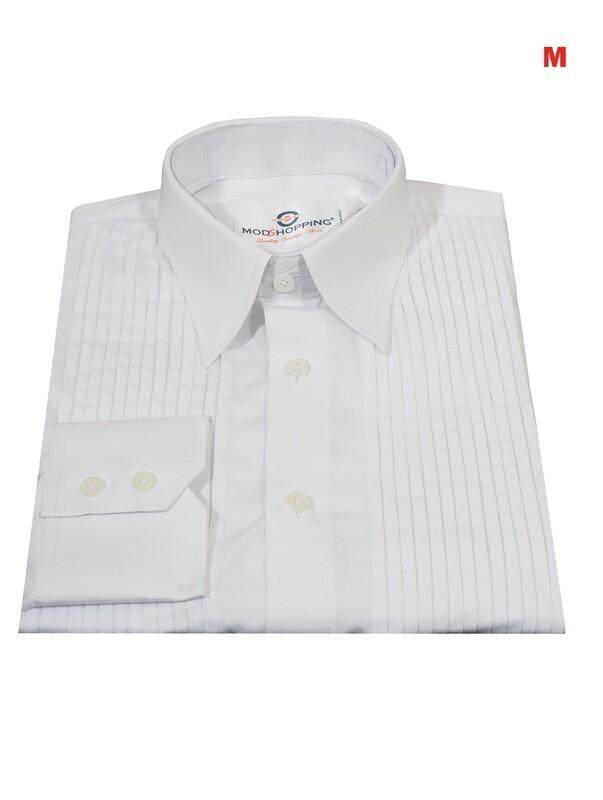 This Tuxedo Only. Tuxedo Shirt White Color For Man