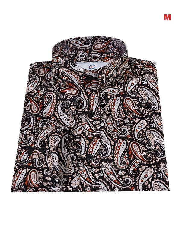 This Shirt Only. Multi Color Paisley Shirt