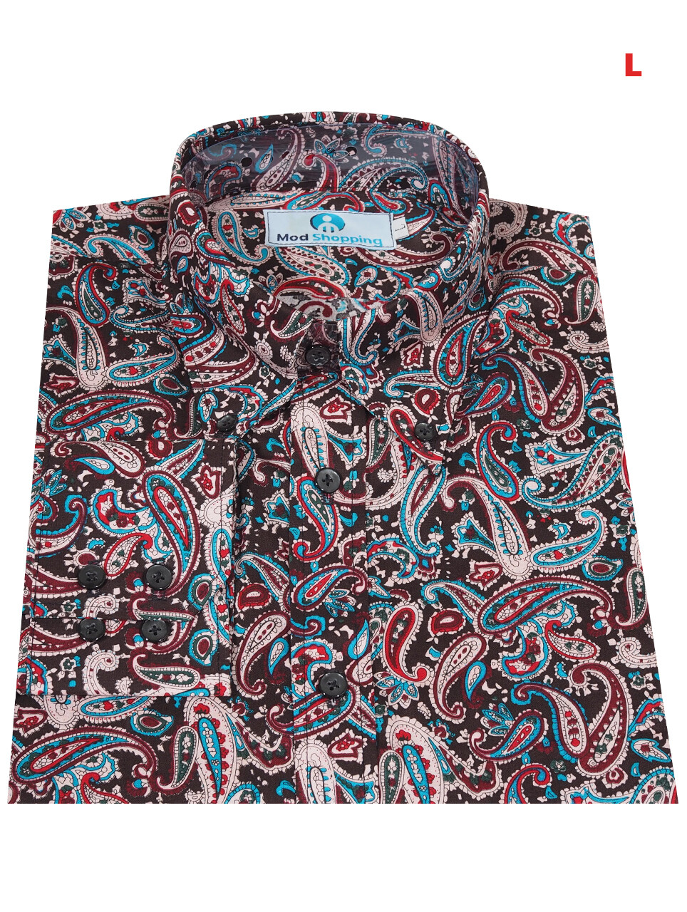 This Shirt Only. Paisley Shirt Multi Color Shirt