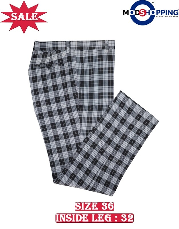 This Trouser Only.Black Check Trouser