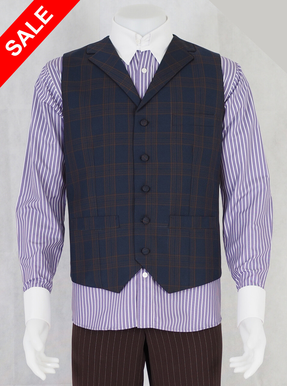 Only This Waistcoat Check Waistcoat 40R