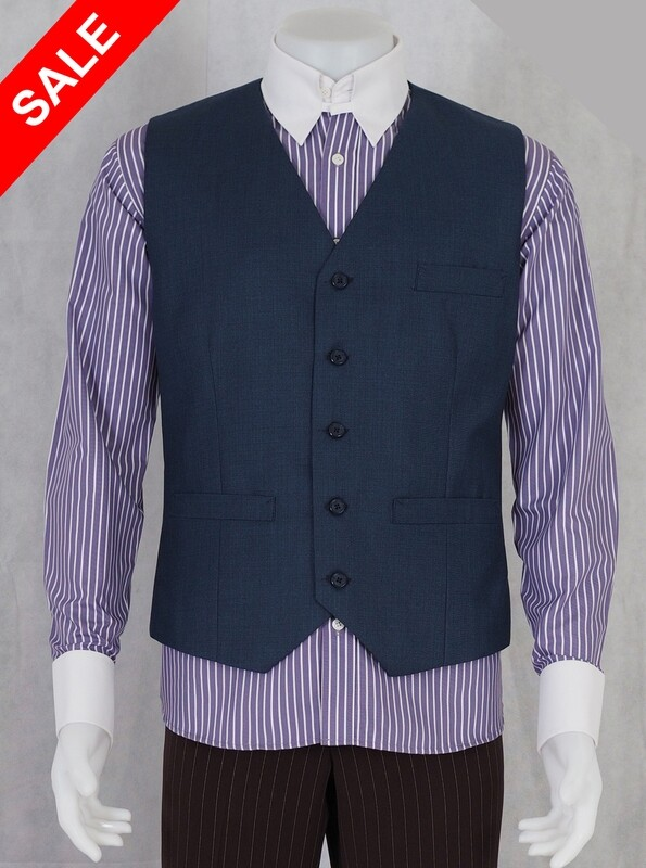 Only This Waistcoat Blue Color Waistcoat 40R.