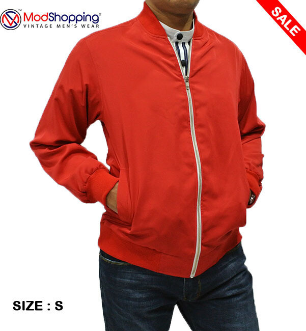 This Jacket Only Red 60'S Monkey Jacket 38R.