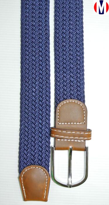 Woven Belts| Blue Elasticated Woven Belts