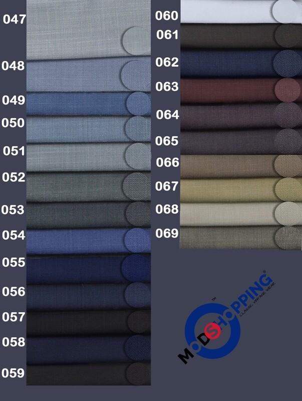 Custom Pale Wool & Mohair Mix Trouser