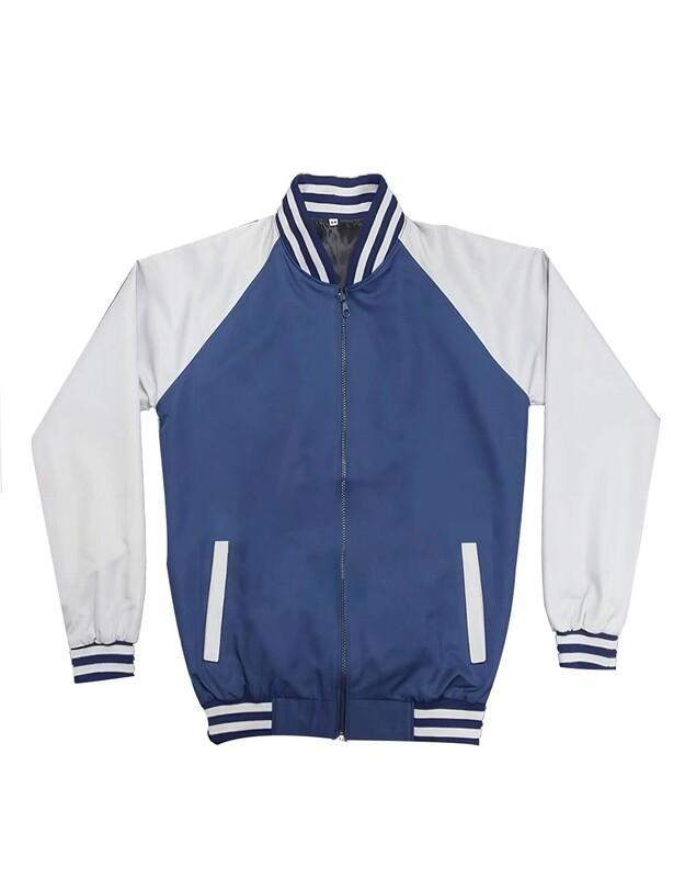 Navy Blue & White Monkey Jacket