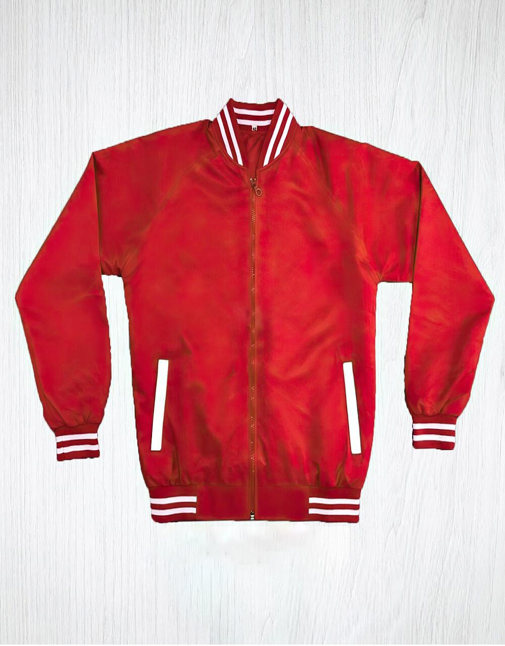 Red & White Stripe Monkey Jacket