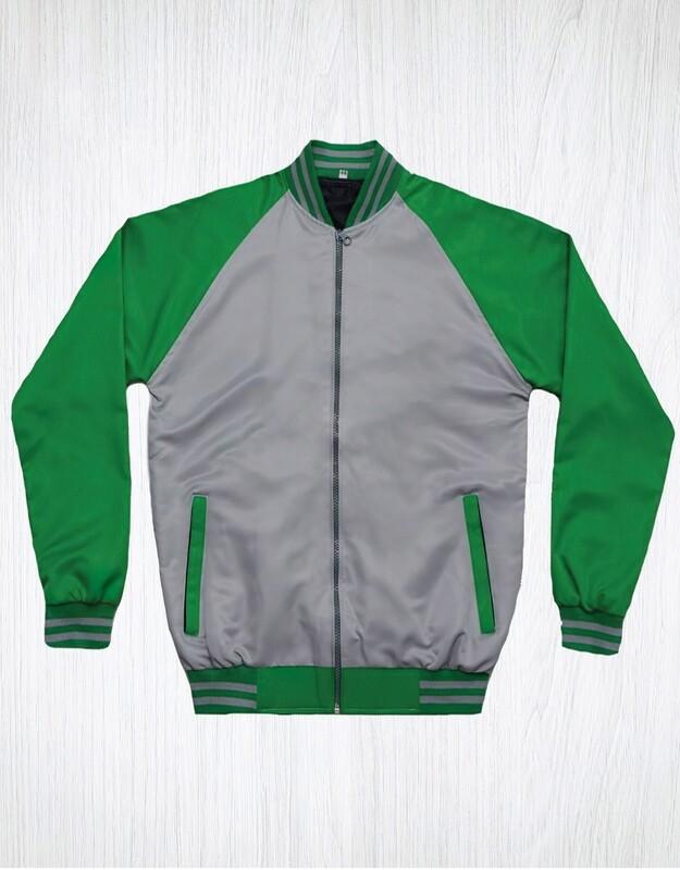 Green & Grey Monkey Jacket