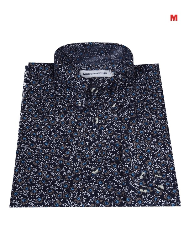 This Shirt Only Flower Multi-Color Shirt
