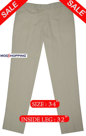 This Trouser Only Sta Press Classic Cream Color