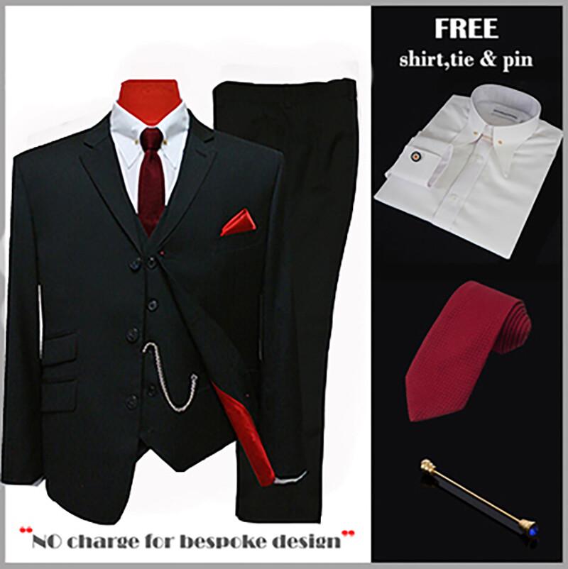 suit deals| uk mod clothing suit deals, buy 1 black suit get 3 free