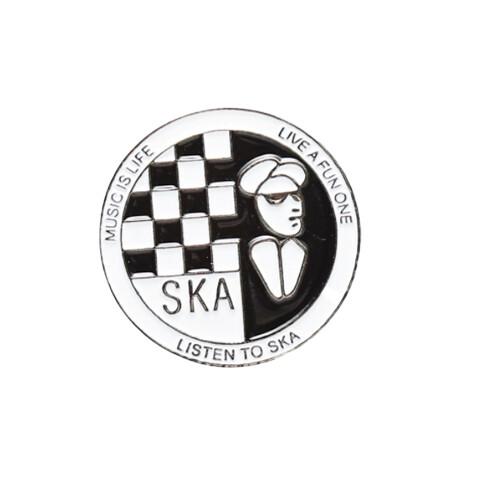 Pin Badge | Ska Man Mods Hat Cap Lapel Pin