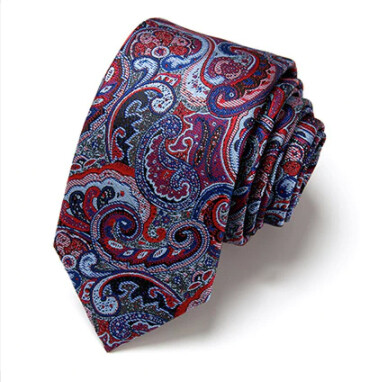 Necktie And Pocket Square Green Paisley For Mens
