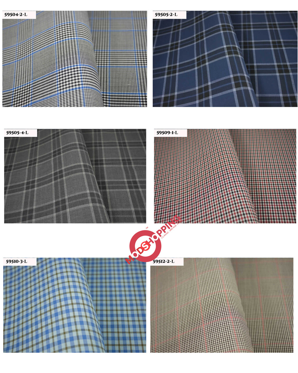 Mod 60s Style Multi-Color Gingham Check 3 Piece Suit