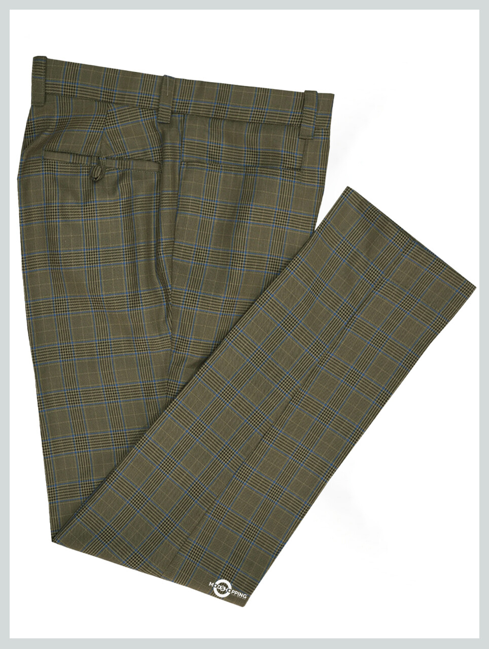 Men Trouser | Brown Prince Of Check Trouser