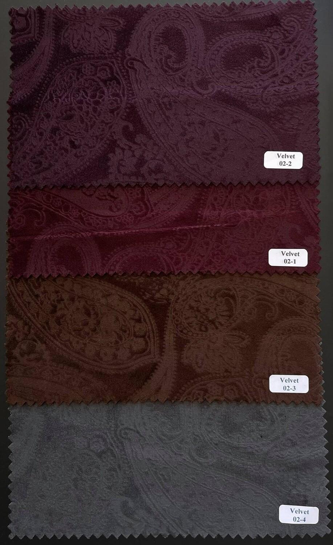 2 Piece Suit Paisley Original Velvet Suit