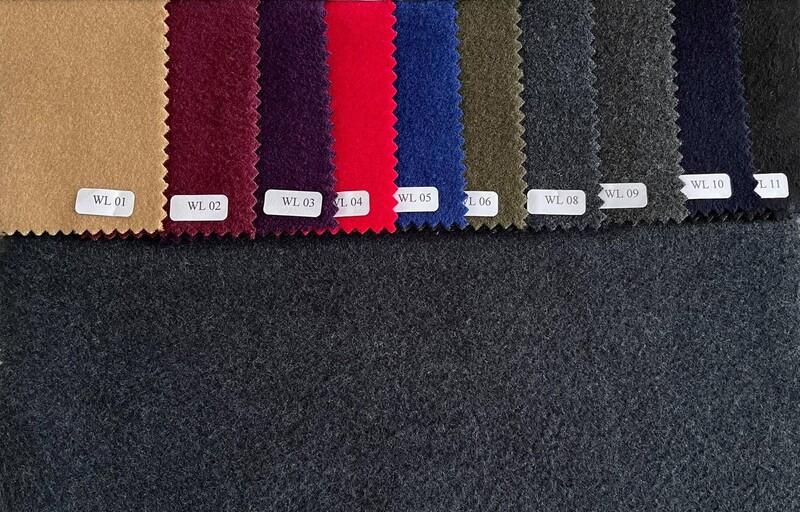 Bespoke 100% Wool Plain Color Winter Coat