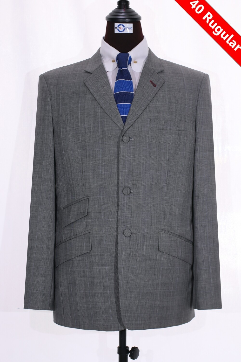 Sale Only This Jacket Grey Prince Of Wales Check