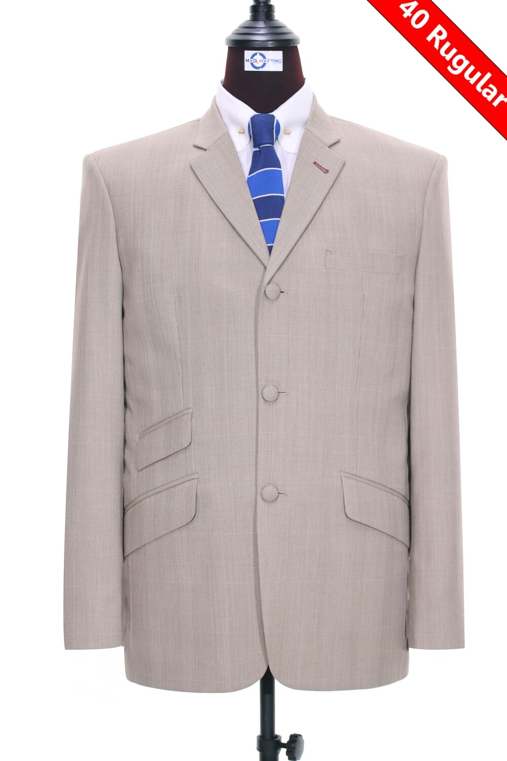 Sale Only This Jacket Brige Glen Plaid Check Jacket Size 40R
