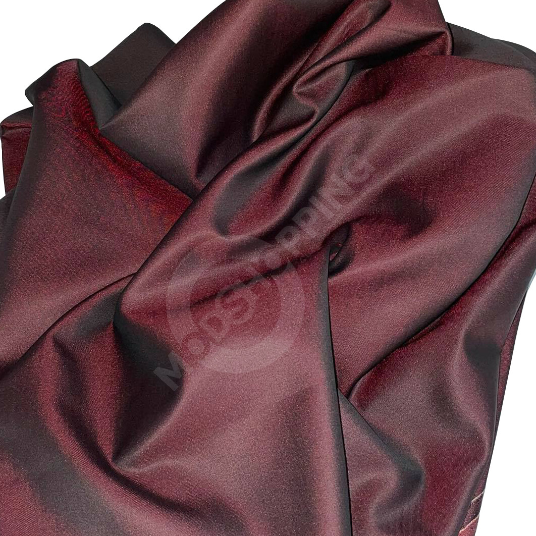 Custom Suit | Wine And Black Two Tone Tonic 2 Piece Suit