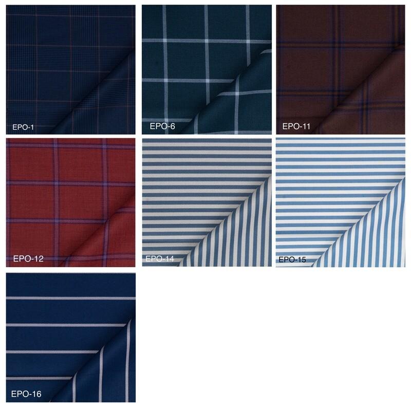 Custom Jacket   Windowpane Check and Stripe