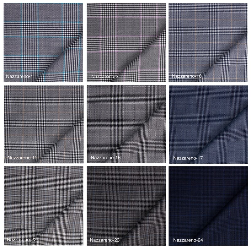 Custom Trouser   Prince Of Wales Check Trouser
