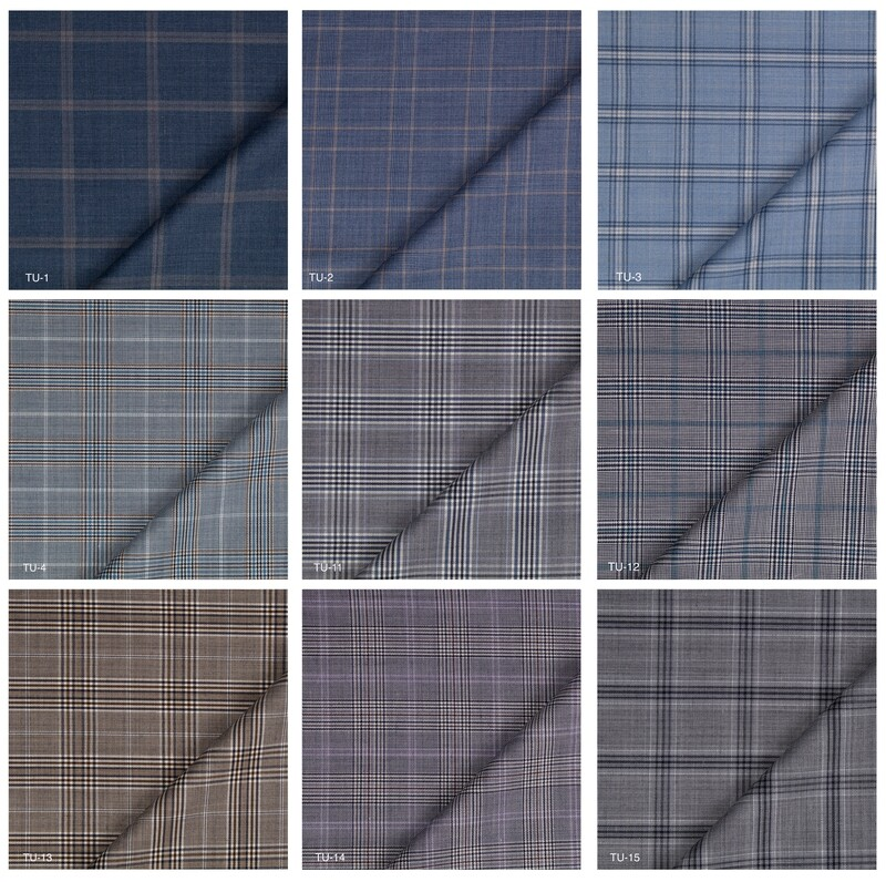 Custom 2 Piece Suit | Plaid Check Suit