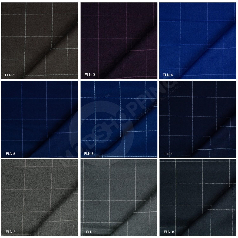 Custom 2 Piece Suit   Windowpane Check Tweed Suit