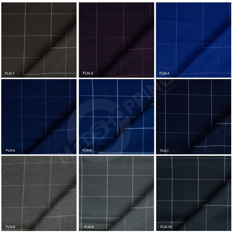 Custom 2 Piece Suit | Windowpane Check Tweed Suit