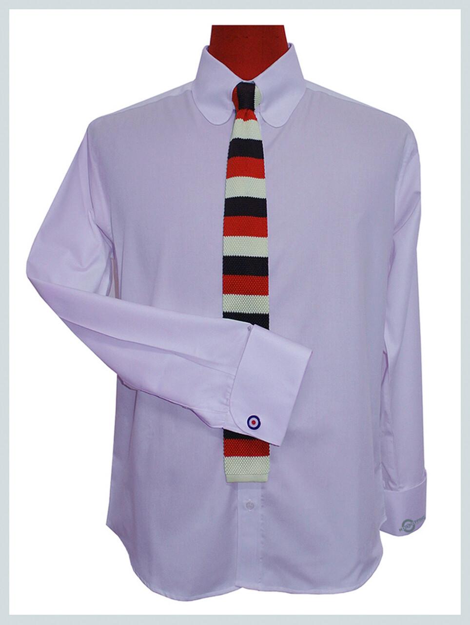 Lilac Shirt| Penny Pin Collar Long Sleeve Vintage Lavender Shirt For Men