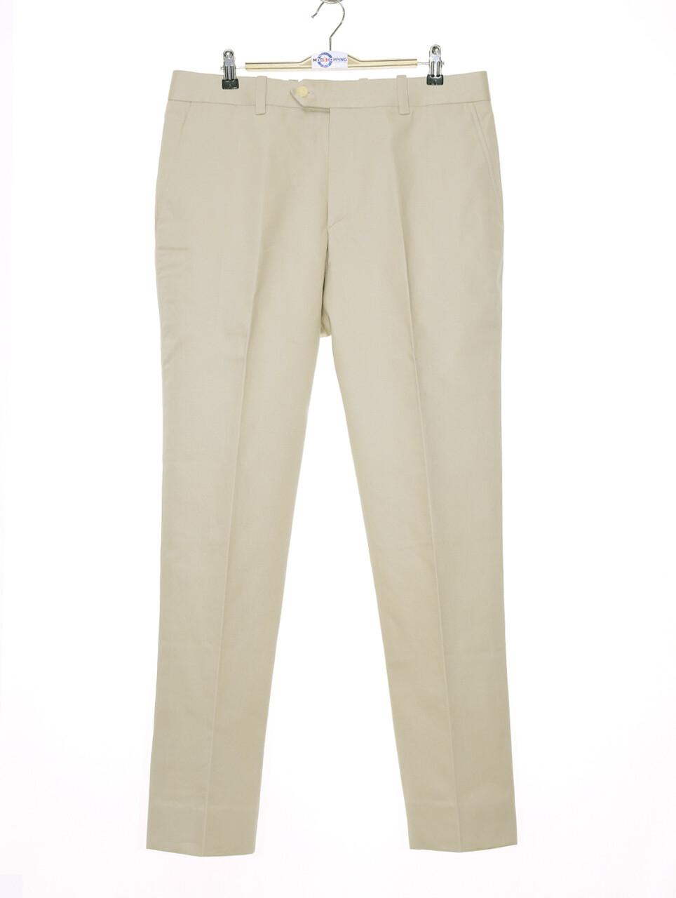Sta Press Trousers| 60s Mod Classic  Beige Men Trouser