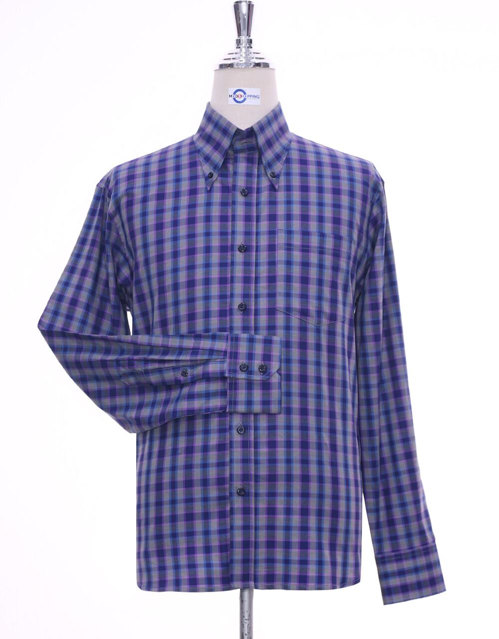 Long Sleeve Shirt Multi-Color Gun Club Check Shirt