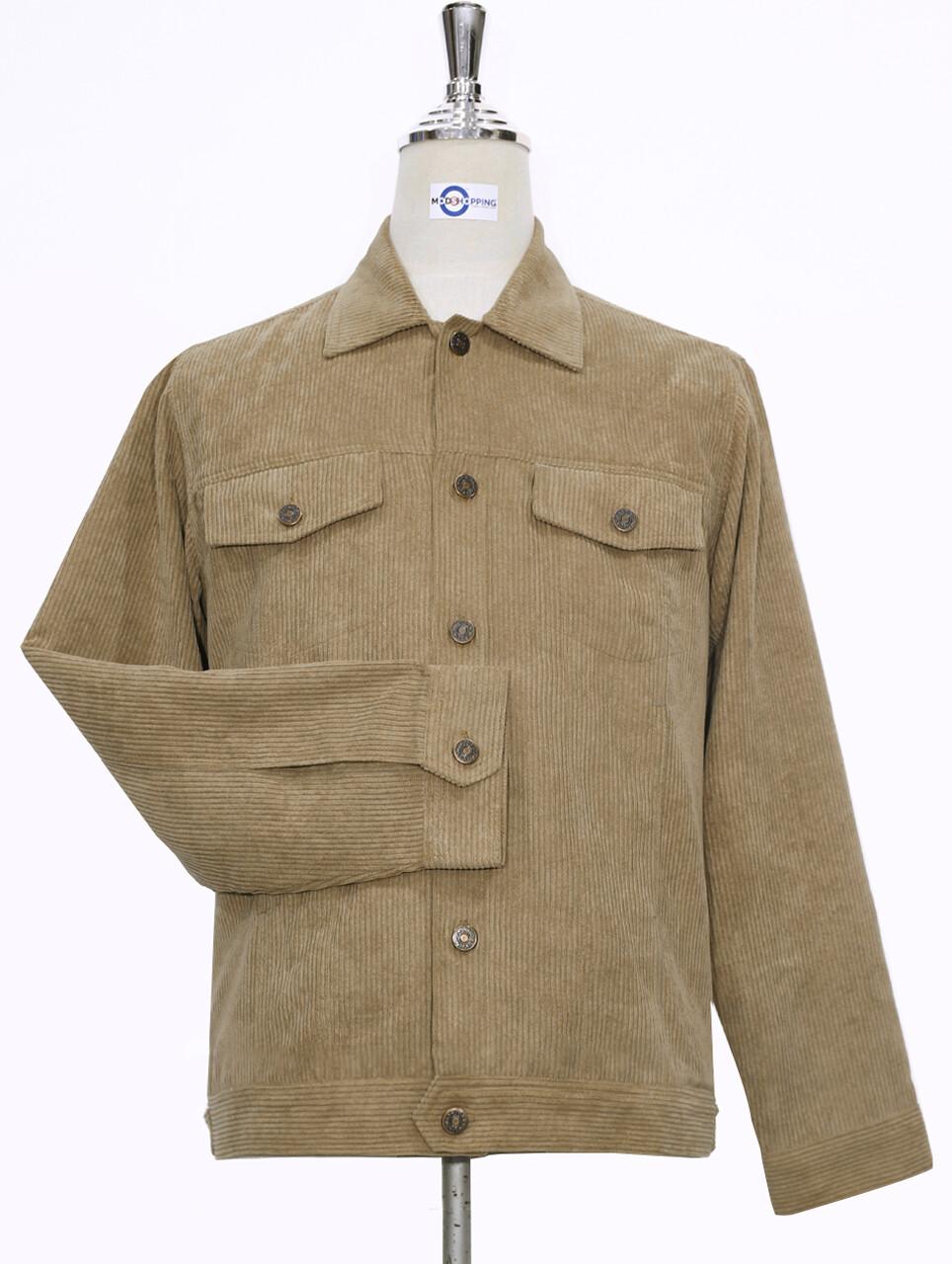 Vintage Brown Corduroy Jacket