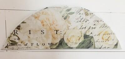 Floral Transfer Sign