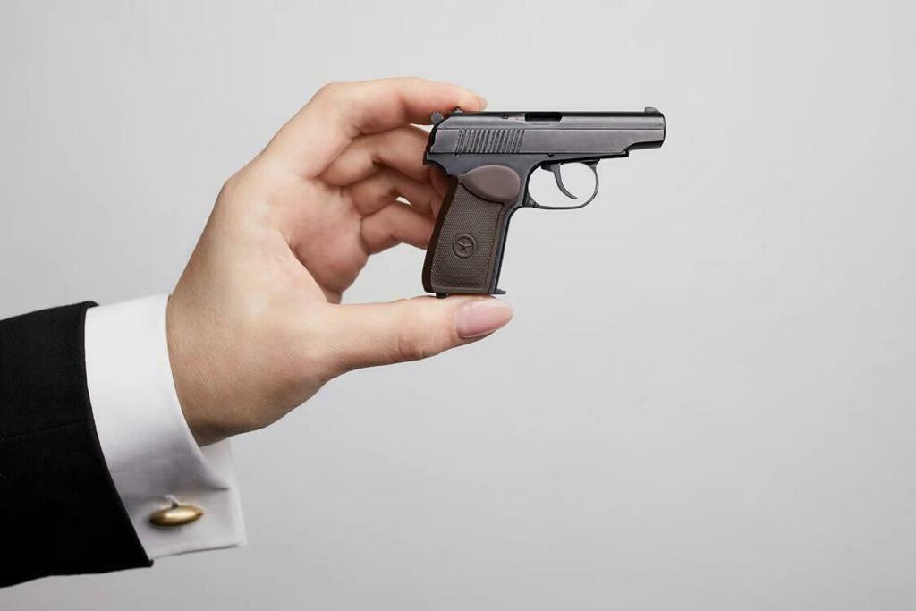 Миниатюрное оружие ПМ (М 1:2)