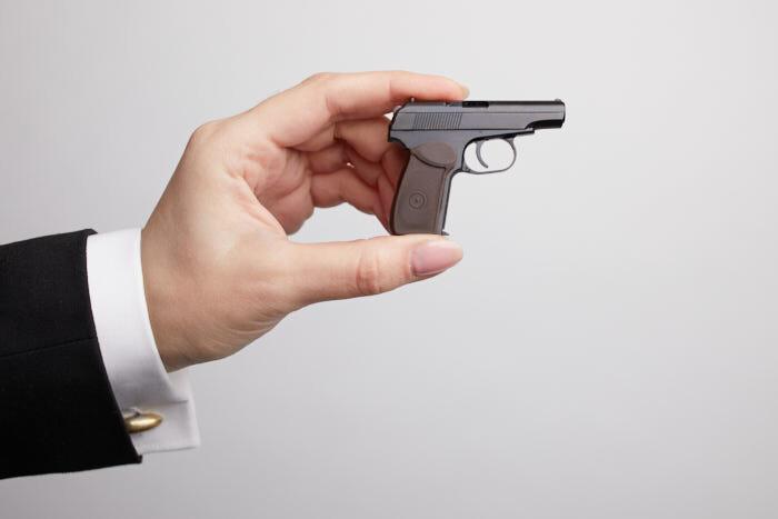 Миниатюрное оружие ПМ (М 1:2,5)