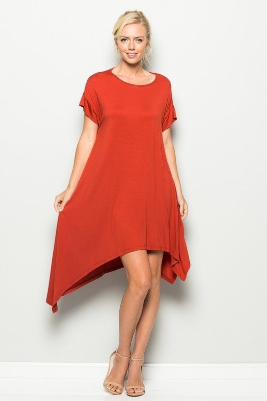 Double Asymmetrical Dress
