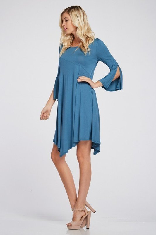 Made for you Bell Sleeve Dress