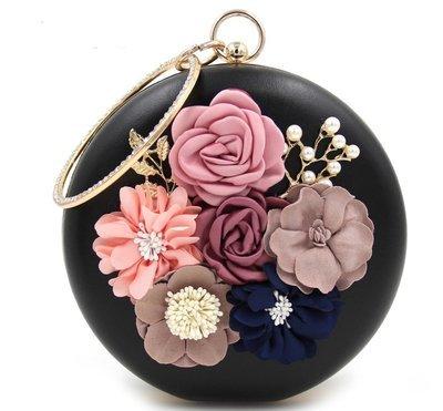 Floral Evening Bag