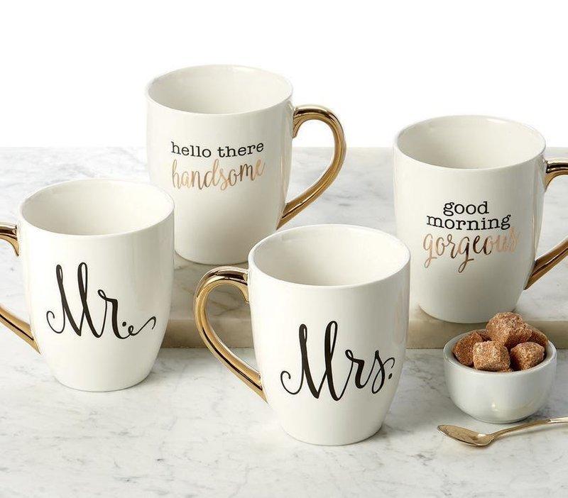 Mr and Mrs Mug Set
