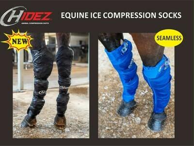 Hidez Ice Compression Socks with 3 Pockets