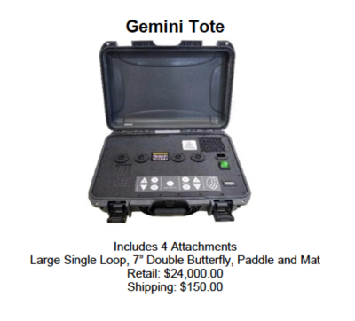 PEMF- Gemini Tote
