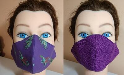 Mask - Purple Dragon