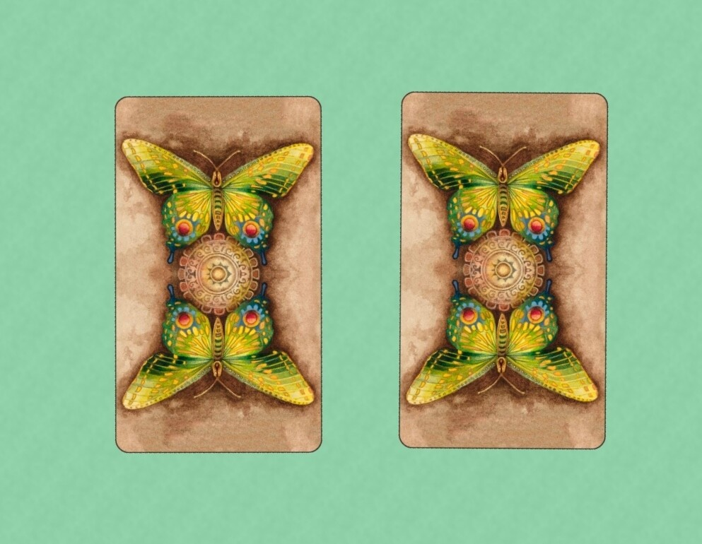 Two-card reading