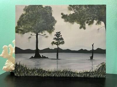 Life, Original Canvas Painting