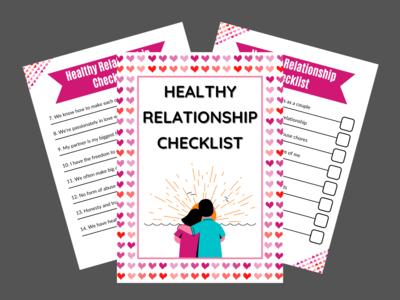 Healthy Relationship Checklist