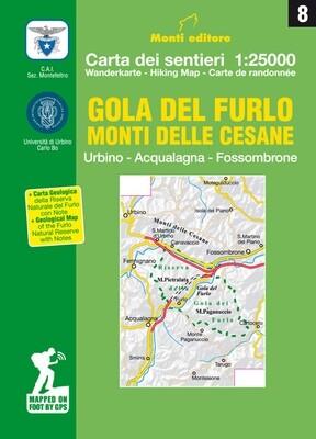 8 - Gola del Furlo - Monti delle Cesane