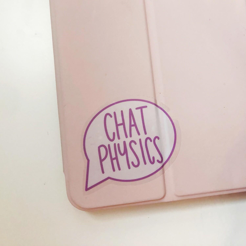 Chat Physics sticker