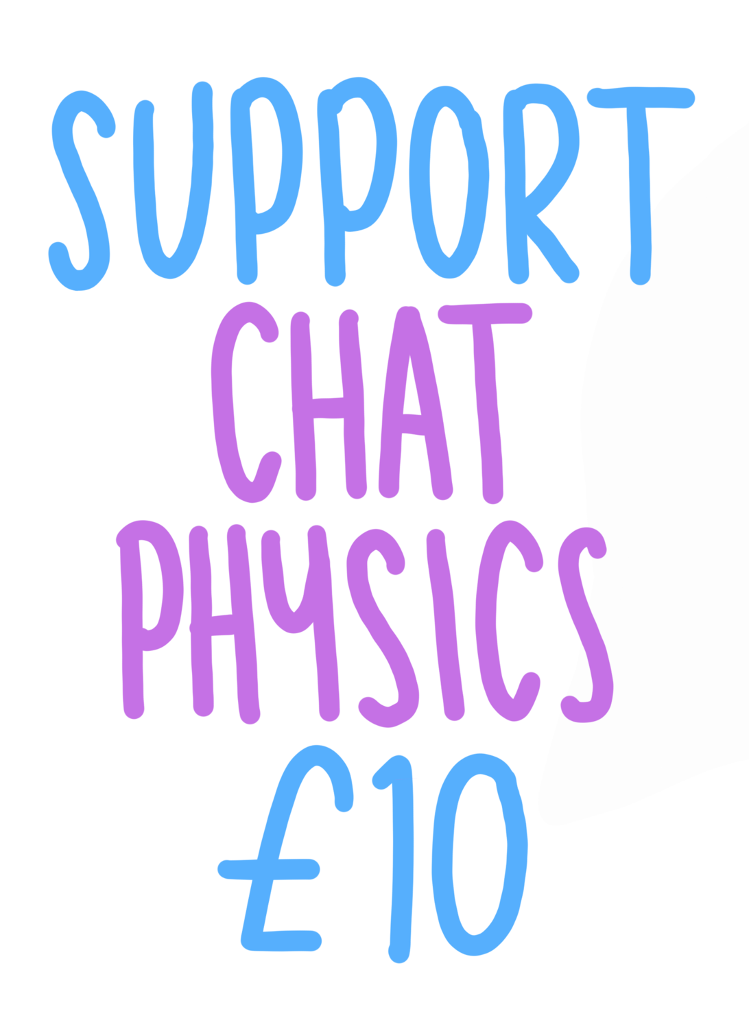 Support Chat Physics £10